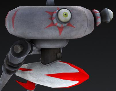 Alien Robbo Antagonist