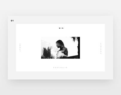Min | Minimal Portfolio
