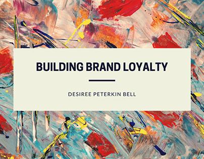 Building Brand Loyalty