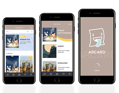Mobile App | Arcarcd
