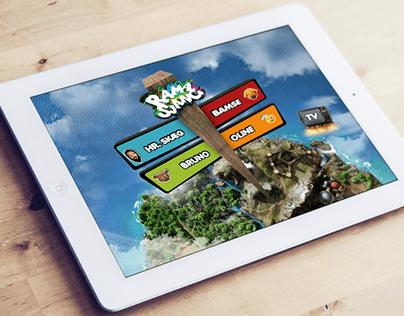 Ramasjang App - Game hub concept and design