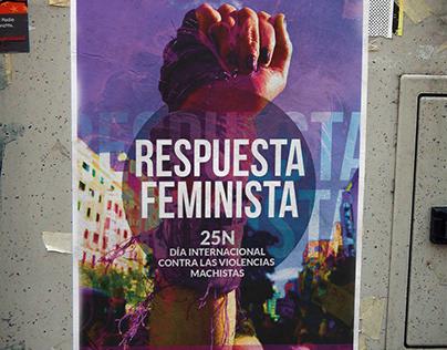 25N Frente a las violencias machistas