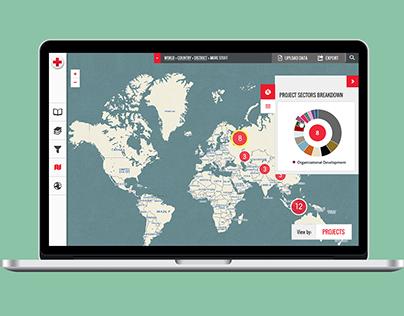 Mapfolio, American Red Cross