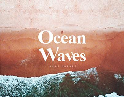 Ocean Waves Branding