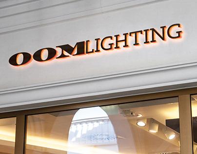 Oom Lighting Brand Identity
