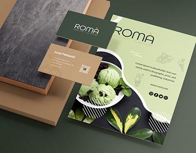 Re-Branding Romà Gelati & Caffè