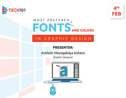 Presentation on Fonts and Colors in Graphic Design
