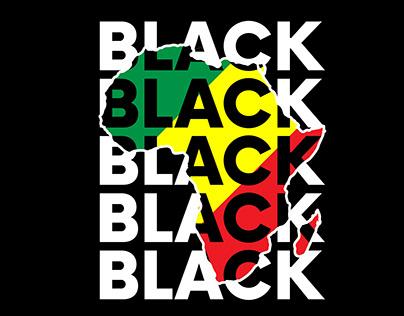 Black History Month Tshirt Design