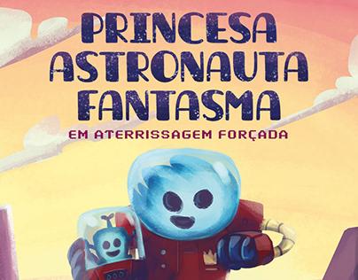 Princesa Astronauta Fantasma em quadrinhos