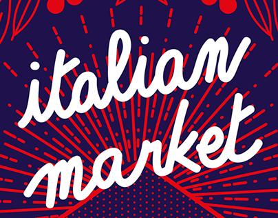 Italian Market poster