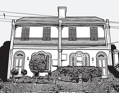 Terrace Illustration
