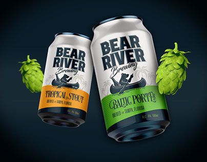 Bear River Brewing Branding