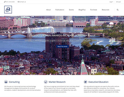 Goldense Group Website