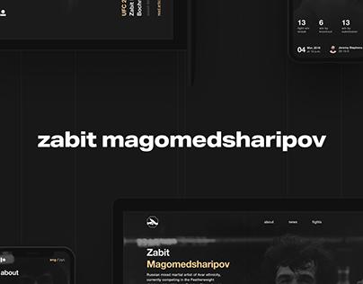 Zabit Magomedsharipov (Website, iOS & Android apps)