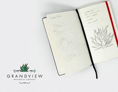 Grandview Waterwise Gardens - Branding & Photography