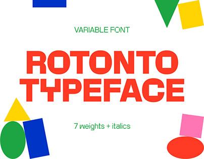 Rotonto Typeface