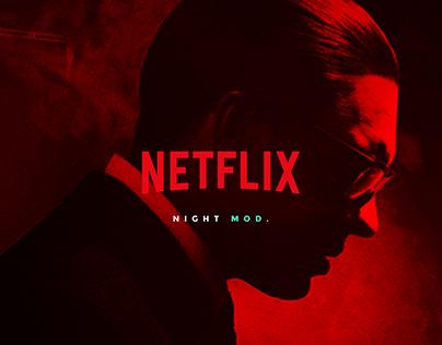 Netflix - ui & ux concept.
