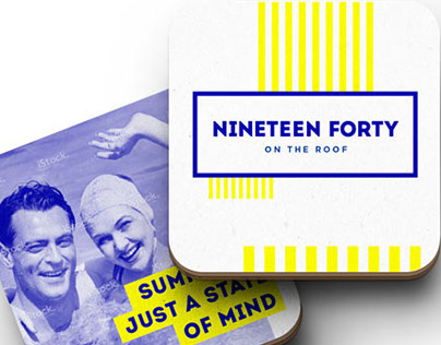 Nineteenforty brand development: concepts & process