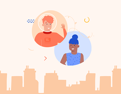 Onboarding App - before & after sign up