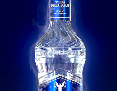 Vodka Gorbatschow New Bottle Design
