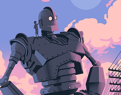 Iron Giant Illustration