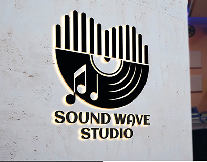 Sound Wave studio Logo Design