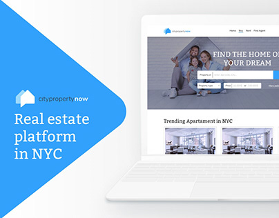 CityProperty - UI and UX for NYC real estate platform