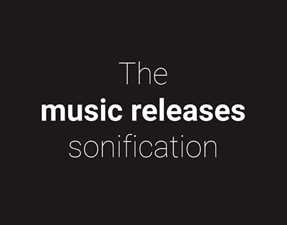 The music releases sonification