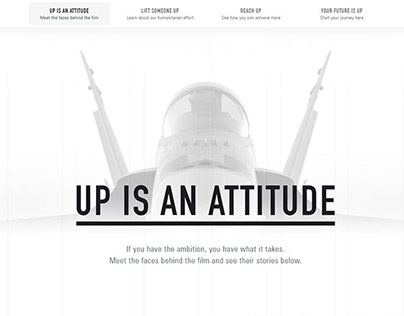 Air Force - Up is an Attitude