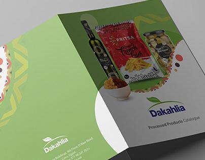 Dakahlia Tri-Fold Brochure