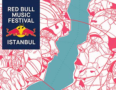 Red Bull Music Festival İstanbul- East vs West Poster