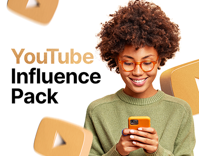 YouTube Influence Pack | AE, FCPX, PR template
