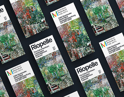 Exhibition brochure for Montreal Museum of Fine Arts