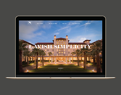 Luxury Senior Living - Corporate Website Proposal