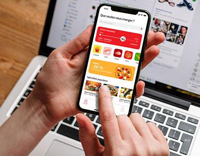 Just Eat App - UI/UX Redesign