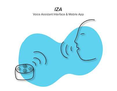 IZA | Voice Assistant & Mobile App
