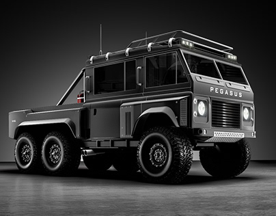 Pegasus 6X6 Customised Land Rover Series III