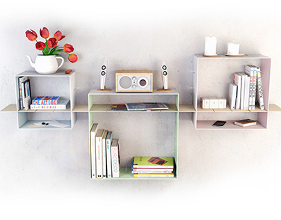 CUB - Creative Undefined Bookshelf
