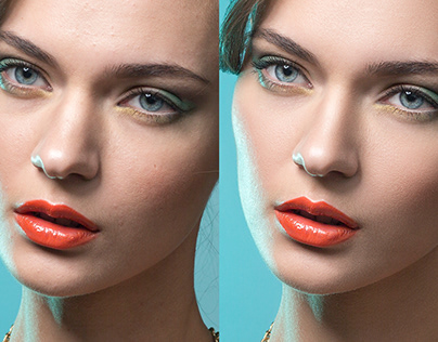 Before/After. Retouch.