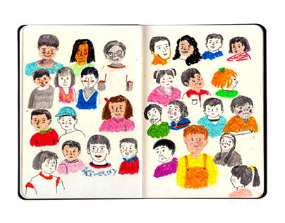 Infancia / Childhood sketchbook