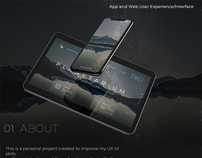Planetarium UX/UI Case Study