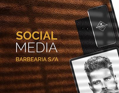 Social Media - Barbearia S/A