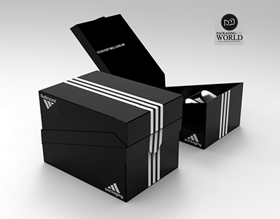 Packaging Design for Adidas Shoes