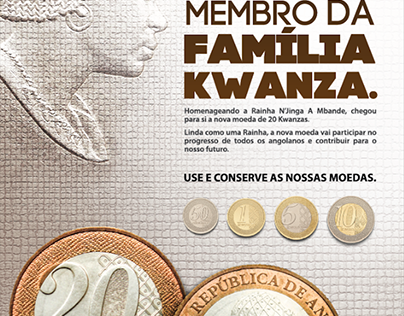 National Bank of Angola- 20Kz Coin release