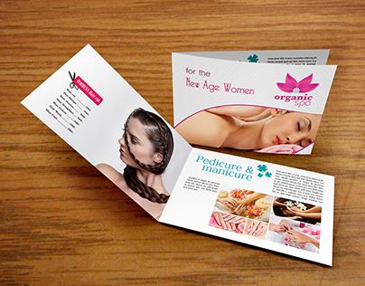 Catalogue For Organic Spa