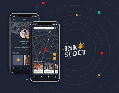 Ink Scout App: UX/UI