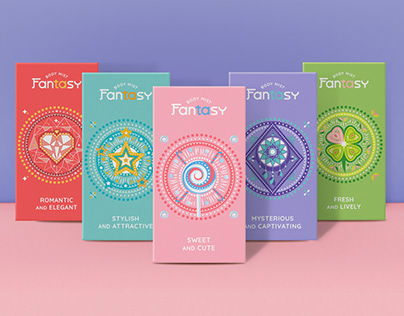 Fantasy Bodymist Packaging