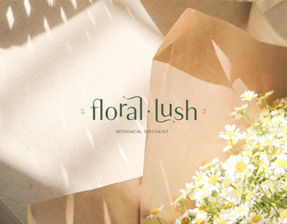 Identité Visuelle - Floral Lush