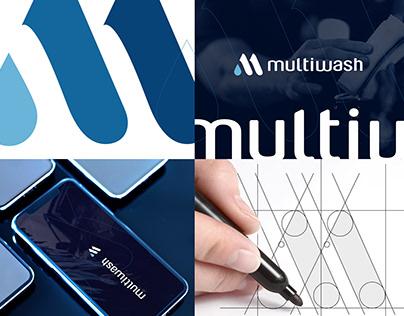 multiwash - car app - rebrandig logo