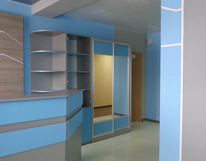 Дизайн офисного помещения.